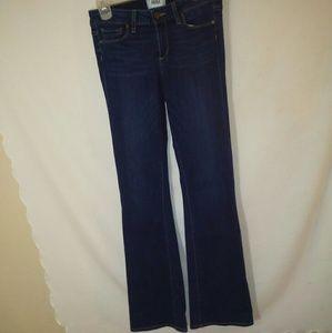 Paige Skyline Boot size 27 dark wash jeans NWOT